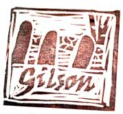 Gilson Road Letterbox stamp, Nashua, NH