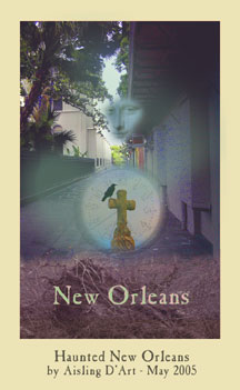 new orleans haunted ATC Aisling D'Art
