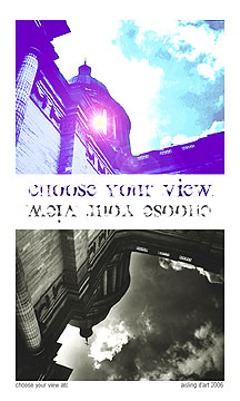 Choose your view ATC by Aisling D'Art - click for printable version