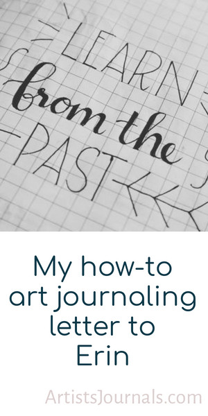 How to create an art journal during a challenging time.