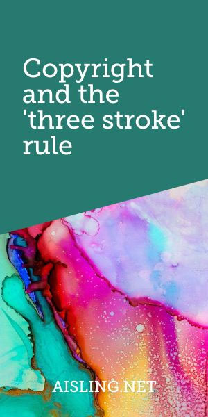 Copyright and the 3-stroke rule