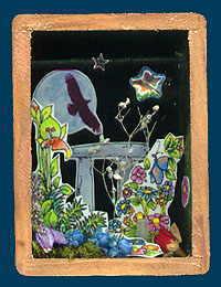 Otherworld Shrine by Aisling D'Art