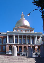 My photo of the State House.