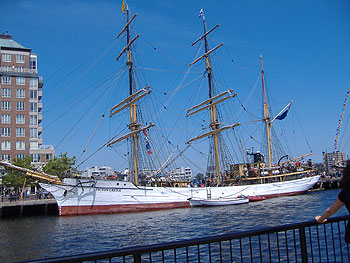 One of the Tall Ships - the Picton Castle