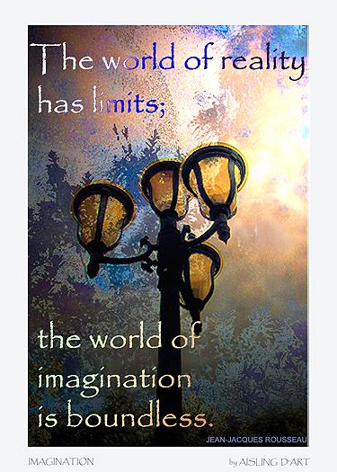 Imagination ATC by Aisling D'Art