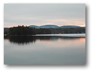 Dawn at Lake Winnesquam