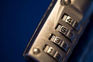 Combination lock - photo by Linusb4, Australia