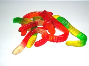 Gummy worms, photo by shinjaejun (USA), shinjaejun.com