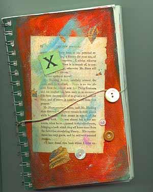 "5"" x 8"" journal entitled ""Hogwarts Journal."""
