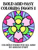 Bold & Easy Coloring Pages