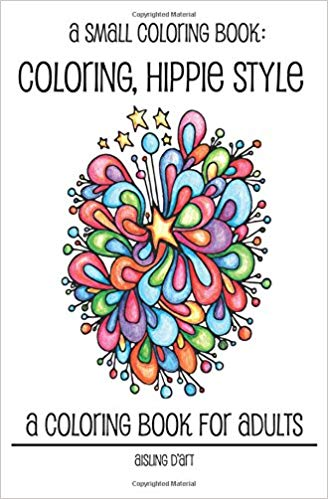 A Small Coloring Book - Coloring Hippie Style