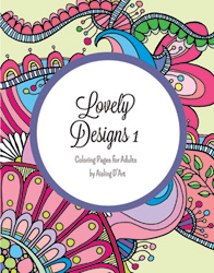 Lovely Designs 1, by Aisling D'Art