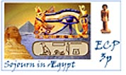 another ECP stamp - Sojourn in Egypt