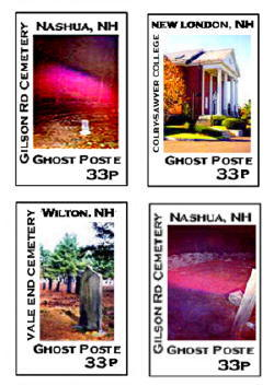 ghost hunters' artistamps