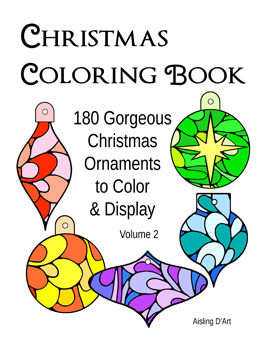 Christmas coloring book - vol 2
