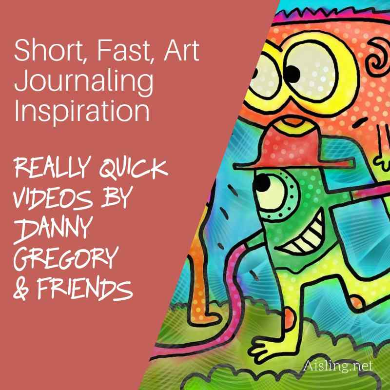 Short, Fast Art Journaling Inspiration – Art of Danny Gregory