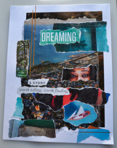 Dreaming a Story – Torn-Paper Collage